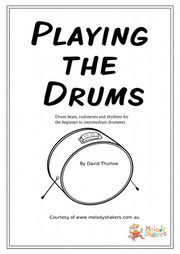 Playing the Drums Free Drum Lesson Resource