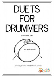 Duets for Drummers free lesson book